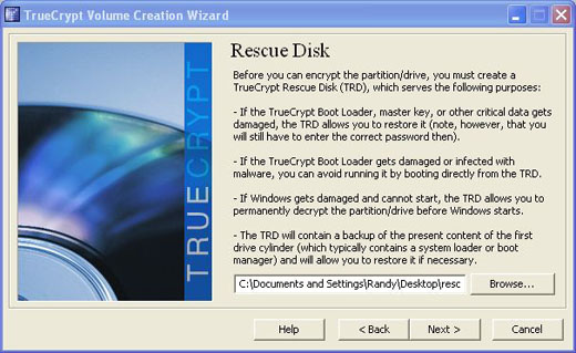 truecrypt rescue disk