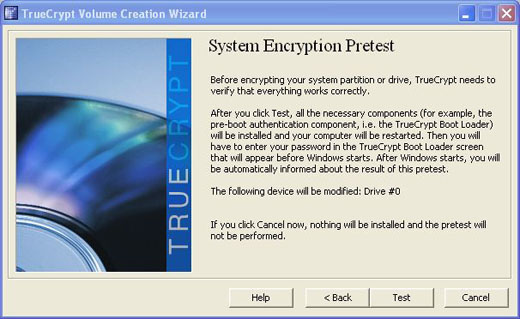truecrypt pretest boot sector