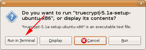 Run TrueCrypt in the Terminal